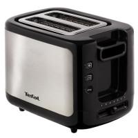 TEFAL TT366800 Grille pain - Noir/ Inox