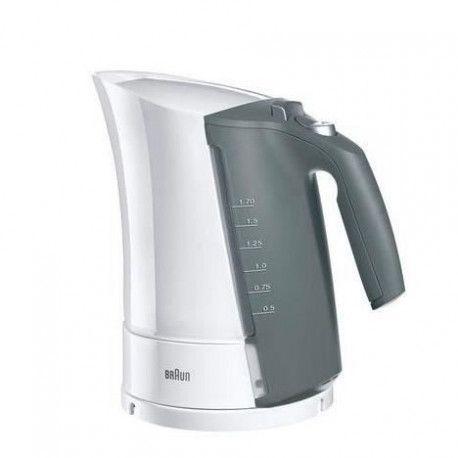 BRAUN WK500WH Bouilloire electrique Multiquick 5 - 1,6 L - Blanc