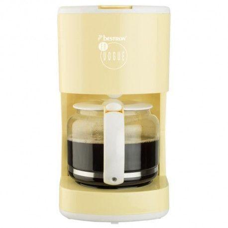 BESTRON ACM300EVV Cafetiere filtre - Jaune