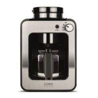 CASO 1849 Cafetiere filtre avec broyeur integre Coffee Compact - Inox