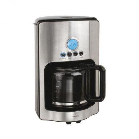 DOMOCLIP DOD154 Cafetiere filtre programmable 1,8L - 12 Tasses
