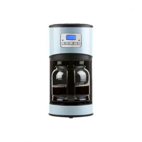 DOMO DO478K Cafetiere filtre programmable Bleu