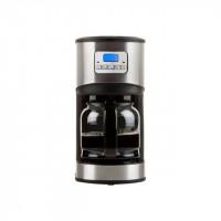 DOMO DO479K Cafetiere filtre programmable Inox