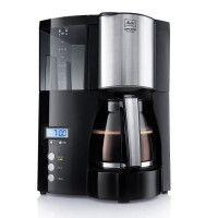 MELITTA 100801 Cafetiere filtre programmable Optima Timer - Noir