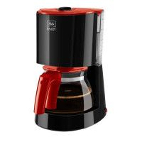 MELITTA 1017-09 Cafetiere filtre Enjoy II Glass - Rouge et Noir