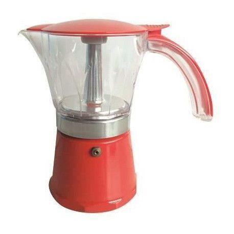 MIDLAND Cafetiere Italienne Nera 6 Tasses