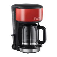 RUSSELL HOBBS Colours 20131-56 Cafetiere filtre - Rouge