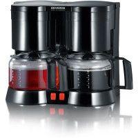 SEVERIN KA 5802 Cafetiere filtre double - Noir