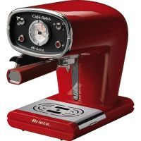 ARIETE 1388 Machine expresso classique Cafe Retro - Rouge