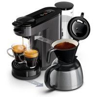 PHILIPS SENSEO HD6591/21 Machine a cafe a dosette ou filtre Switch - Verseuse isotherme - 1 L - Gris