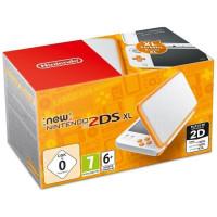 New Nintendo 2DS XL Blanche et Orange