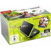 Console New Nintendo 2DS XL Noir/Citron Vert + Mario Kart 7 preinstalle