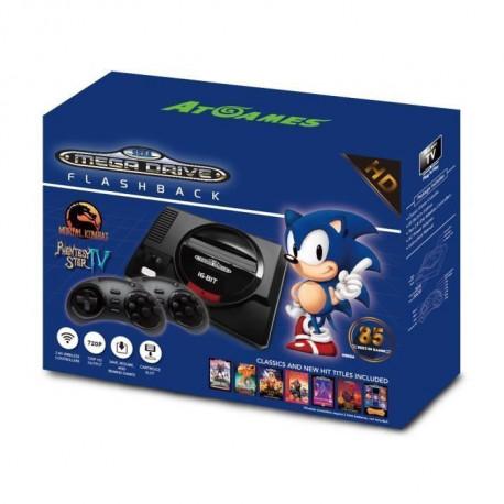 Console Sega Mega Drive Flashback HD avec Manettes sans fils