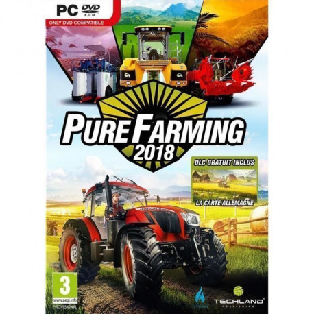 Pure Farming 2018: Day One Edition Jeu PC + 2 bonus de precommande