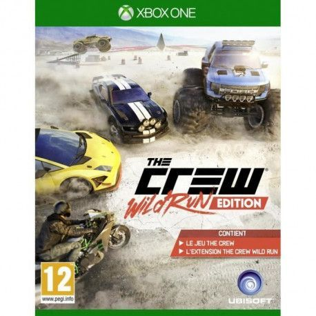 The Crew Wild Run Edition - Jeu Xbox One