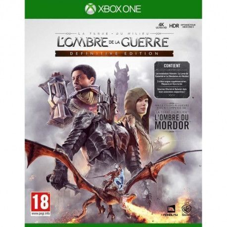 LOmbre de la Guerre Definitive Edition Jeu Xbox One