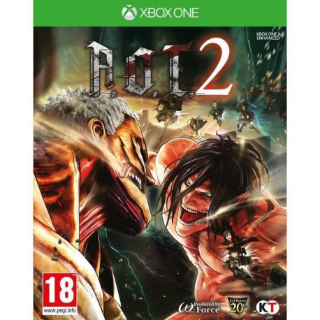 Lattaque des Titans 2 Jeu Xbox One