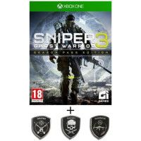 Pack Sniper Ghost Warrior 3 Season Pass Edition Jeu Xbox One + Patch set Sniper Ghost Warrior 3