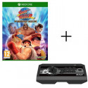 Pack Xbox One: Jeu Street Fighter 30th Anniversary Collection + Joystick Real Arcade Pro V