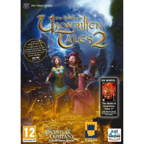 The Book of Unwritten Tales 2 Book 1 en bonus Jeu PC
