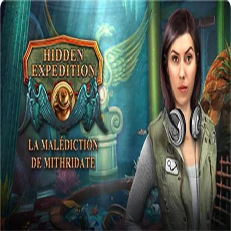 Hidden Expedition 15 La Malediction de Mithridates Jeu PC