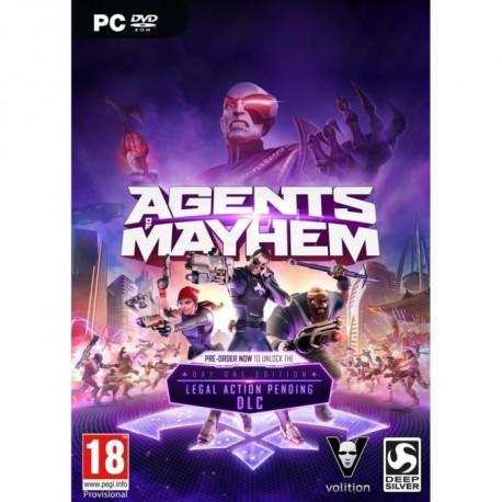 Agents Of Mayhem Day One Edition Jeu PC