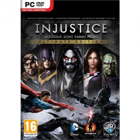 Injustice Jeu PC