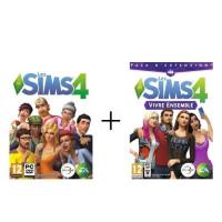 Sims 4 Jeu PC + Sims 4 : Vivre Ensemble Jeu PC
