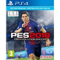 PES 2018 Edition Premium D1 Jeu PS4