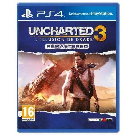 Uncharted 3: Drakes Deception Remastered Jeu PS4