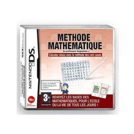 Methode Mathematique du Professeur Kageyama - Jeu Nintendo DS