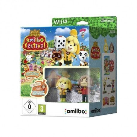 Animal Crossing Amiibo Festival Jeu Wii U + Amiibo