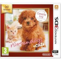 Nintendogs + Cats Caniche Jeux Selects 3DS