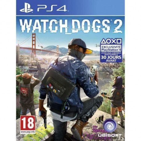 Watch Dogs 2 Jeu PS4