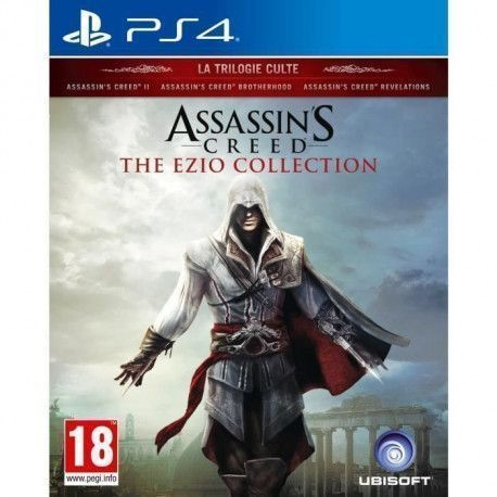 Assassins Creed The Ezio Collection Jeu PS4