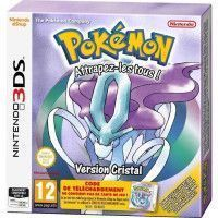 Pokemon Version Cristal jeu 3DS