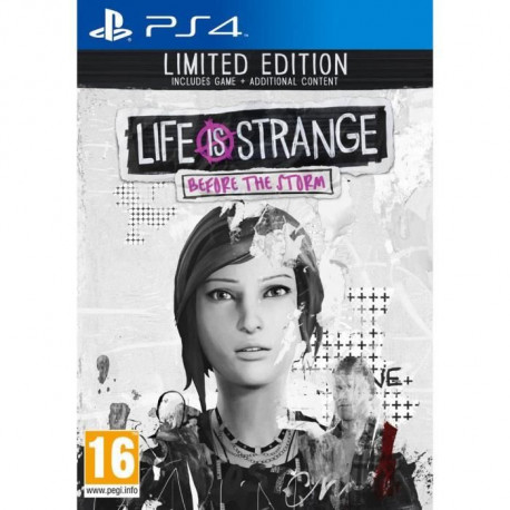 Life is Strange Before the Storm Edition Limitee Jeu PS4