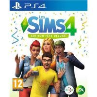 Sims 4 Edition Fete Deluxe Jeu PS4