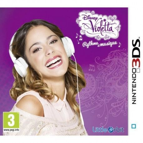 Violetta Jeu Nitendo 3DS