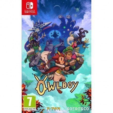 Owlboy Jeu Switch