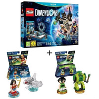 Pack LEGO: Starter Pack Wii U Lego Dimensions + 2 Figurines LEGO Dimensions: Wonder Woman + Powerpuff Girls