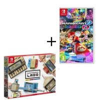 Pack 2 jeux Switch : Nintendo Labo Multi-Kit + Mario Kart 8 Deluxe