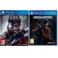 Uncharted : The Lost Legacy + Dishonored : La Mort de lOutsider