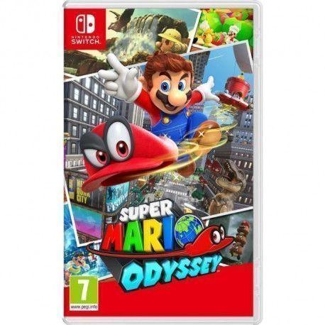 Super Mario Odyssey Jeu Switch