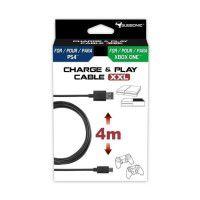 Cable de recharge Subsonic pour manette PS4 et Xbox One
