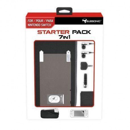 Pack daccessoires 7 en 1 pour console Nintendo Switch