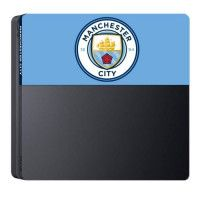 Facade de personalisation Manchester City Football Club pour PS4 Slim