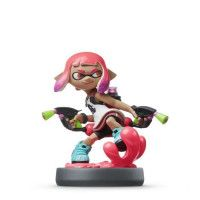 Amiibo Splatoon - Fille Inkling Rose Neon Collection Splatoon
