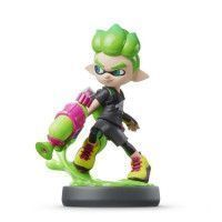 Amiibo Splatoon - Garcon Inkling Vert Neon Collection Splatoon