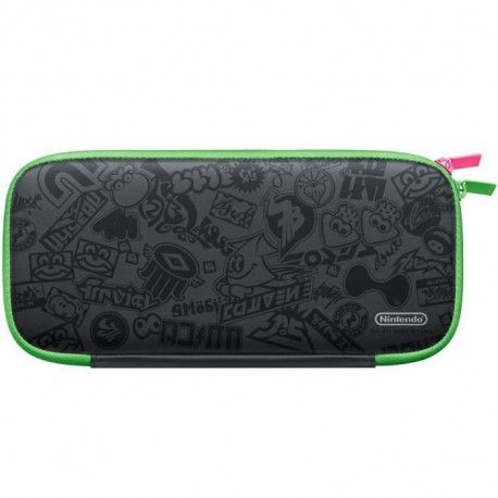 Pochette de transport et protection decran Nintendo Switch - Edition Splatoon 2